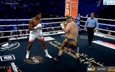 Anthony Joshua poráží Andyho Ruize a stává se opět světovým šampionem!
