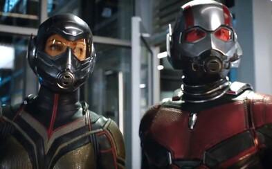 Ant-Man a Wasp se v traileru plném humoru a akce stávají dynamickou dvojkou, se kterou nás čeká kopa zábavy