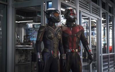 Ant-Man a Wasp sú na prvej fotke k spoločnému filmu pripravení k boju!