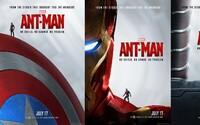 Ant-Man povoláva Avengerov a pýši sa skvelými plagátmi