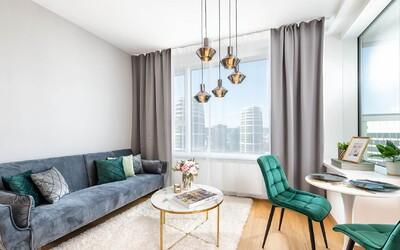 Apartmán na 23. podlaží s výhľadom na celú Bratislavu, ktorý sa predal vďaka niekoľkým stories na Instagrame