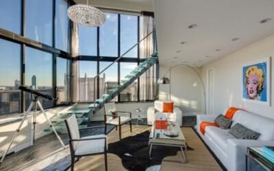 Apartmán s výhľadom na Manhattan, ktorý si vychutnával legendárny Frank Sinatra