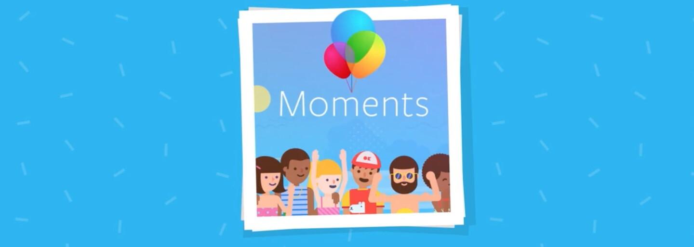 Aplikácia Moments je už dostupná v Európe. Zdieľanie fotiek z Facebooku bude opäť ľahšie