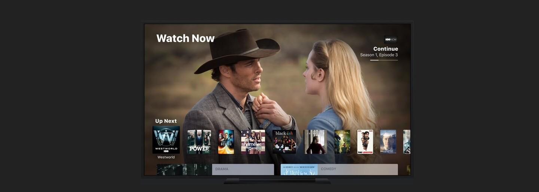Apple chce s aplikáciou TV pre iOS a tvOS zjednodušiť pozeranie filmov, seriálov aj športových zápasov