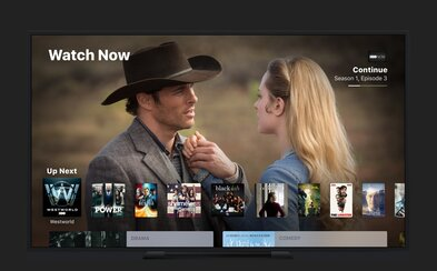 Apple chce s aplikací TV pro iOS a tvOS zjednodušit sledování filmů, seriálů i sportovních zápasů