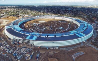 Apple dokončuje práce na jejich monstrózním Campusu 2 za 5 miliard dolarů