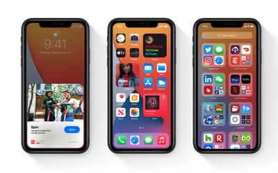 Apple již zpřístupnil operační systém iOS 14, na svůj iPhone si ho můžeš okamžitě nainstalovat