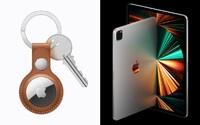 Apple konečně ukázal AirTag. S aplikací Najdi už neztratíš klíče ani batoh s novým iPad Pro