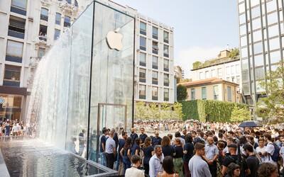 Apple otevřel v srdci Milána svůj možná nejkrásnější obchod. Ukryl ho do fontány