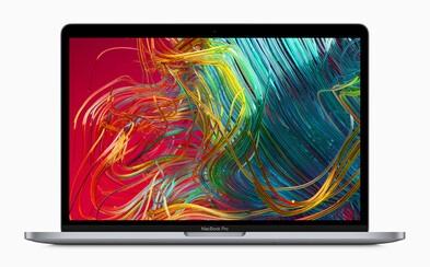 Apple potešil novými 13-palcovými MacBookmi Pro. Za 1 499 eur už dostaneš rovno 256 GB disk