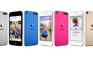 Apple potichu predstavil nové iPody. iPod Touch sa vyrovná výkonu iPhonu 6