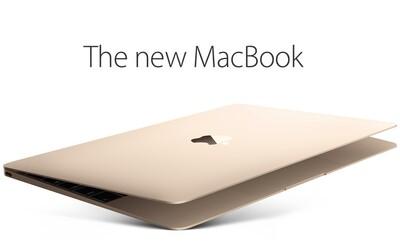 Apple představil supertenký MacBook s novou klávesnicí a 12palcovým Retina displejem