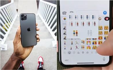 Apple přinese 230 nových emotikonů. U párů si budeš moci vybrat barvu pleti i pohlaví