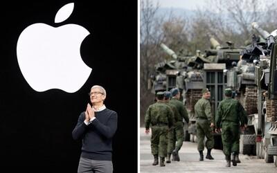 Apple sa opäť podriadilo tlaku. Tentokrát spoločnosť ustúpila Rusku a zmenila hranice na Kryme