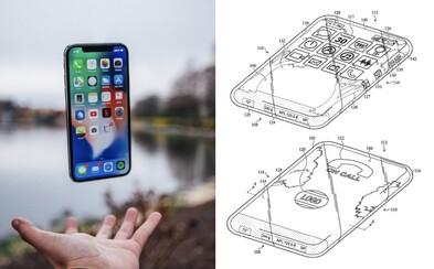 Apple si patentoval iPhone s displeji po všech stranách. Bude něco takového i opravdu prodávat?