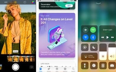 Apple sprístupnilo aktualizáciu na iOS 11. iPhony a iPady tak získajú množstvo noviniek aj vylepšení