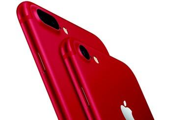 Apple spustil predaj červeného iPhonu 7 a 7 Plus na podporu boja proti HIV
