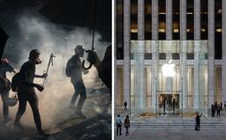 Apple stiahol mapu protestov v Hong Kongu zo svojho App Store. Vraj ustúpil Číne