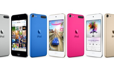 Apple tiše představil nové iPody. iPod Touch se vyrovná výkonu iPhonu 6