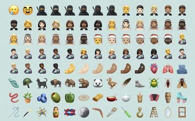 Apple vydal 117 nových emotikonů