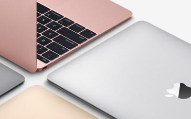 Apple vylepšilo MacBook. Tešiť sa môžeme na rýchlejší procesor, ružové prevedenie aj dlhšiu výdrž