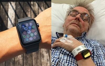 Apple Watch zachránily život důchodci, který spadl v koupelně a upadl do bezvědomí. Utrpěl trojitou frakturu lebky