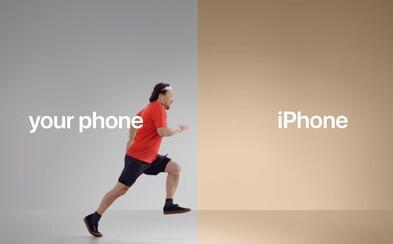 Apple zahájilo ostrý útok na Android. Čerstvé reklamy vyzdvihují špičkový výkon i úroveň soukromí iPhonu