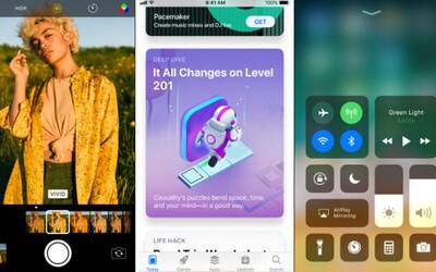 Apple zpřístupnilo aktualizaci na iOS 11. iPhony a iPady tak získají mnoho novinek a vylepšení