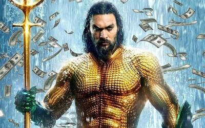 Aquaman je najúspešnejším filmom z DCEU! Tržbami sa blíži už k hranici jednej miliardy
