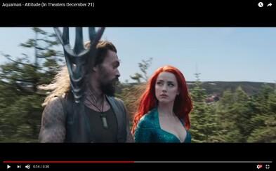 Aquaman sa v nových záberoch z filmu hodlá stať viac než kráľom Atlantisu