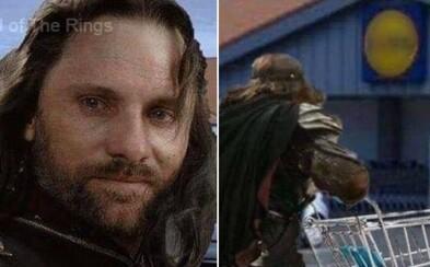 Aragorn běží nakoupit mouku a Gandalf ti radí dodržovat hygienu. 17 zábavných filmových memes s tématem koronaviru