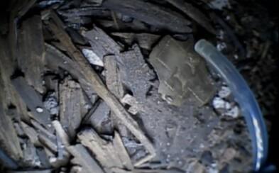 Archeologové na Milevsku objevili hřeb, který údajně pochází z kříže Ježíše Krista