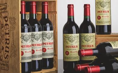 Archivní víno, které zrálo ve vesmíru, se bude dražit za více než 20 milionů korun