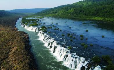 Argentínske vodopády Saltos del Moconá patria k jedinečným prírodným úkazom sveta