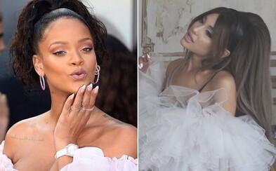 Ariana Grande kopíruje Rihannu, Emma Smetana se vdala, i když o tom nevěděla