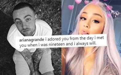 Ariana Grande prehovorila prvýkrát od smrti Maca Millera. V dojímavom príspevku opisuje svoje pocity