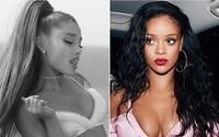 Ariana Grande vraj kopíruje Rihannu a privlastňuje si černošskú estetiku. Údajne vykráda aj známych dizanérov