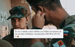 Armáda vysmiala Slovenských brancov, ktorí sa na hraniciach hrali na vojakov. Nezistili ste ani ho*no, ale máte selfie na Tiktok
