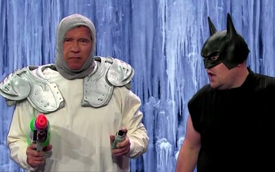Arnold Schwarzenegger a jeho najznámejšie postavy v krátkom zábavnom videu