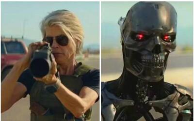 Arnold Schwarzenegger a Linda Hamilton bojujú proti najnovšiemu modelu Terminátora v explozívnom traileri pre Dark Fate