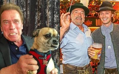 Arnold Schwarzenegger miluje fotenie so svojím koňom a tance so Sylvesterom Stalloneom