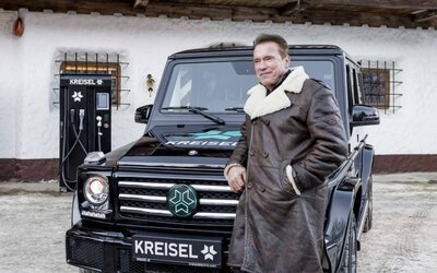 Arnold Schwarzenegger překvapuje. Po sérii neekologických monster si nechal postavit elektrický Mercedes-Benz třídy G