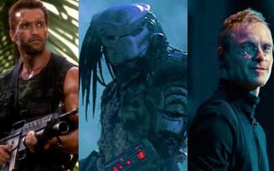Arnold Schwarzenegger sa na televíznych obrazovkách popasuje s kultovým Predátorom, Liam Neeson zase s krvilačnými vlkmi
