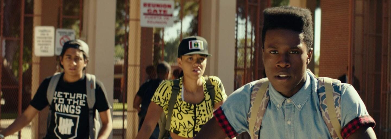 A$AP Rocky osobně představuje nový film Dope, na kterém se producentsky podílí i Pharrell Williams