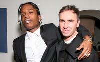 A$AP Rocky vzdáva poctu Rafovi Simonsovi novou skladbou, na ktorej rapuje i Frank Ocean