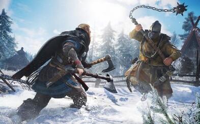Assassin's Creed: Valhalla odhaľuje obliehanie hradov a krvavé súboje vikingov. Navštívime Stonehenge a možno stretneme aj Odina