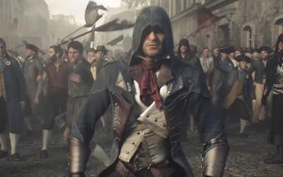 Assassin's Creed Unity sa pripomína krásnym cinematic trailerom. Vive la Revolution!