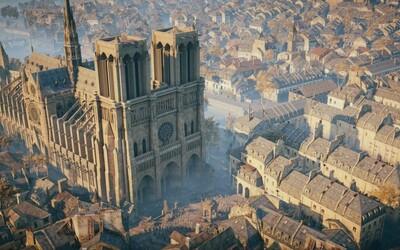 Assassin's Creed: Unity si můžeš stáhnout úplně zdarma na počest katedrály Notre-Dame, oznámil Ubisoft