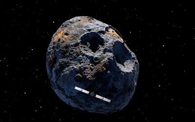 Asteroid o hodnotě 10 000 000 000 000 000 000 dolarů se stane primárním cílem pro NASA na rok 2030