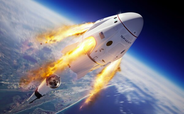 Astronauti by se z poškozené rakety zachránili. Test NASA a SpaceX byl úspěšný